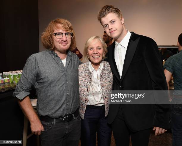 Musician Drew Brown Operation Smile cofounder Kathleen Magee and Producer/DJ Connor Bvrns attend the Operation Smile Screening of ENOK Hosted by DJ...