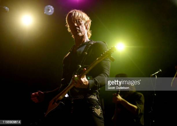 Musician Duff McKagan founding member of Guns N' Roses performs onstage in support of his solo album Tenderness at El Rey Theatre on June 13 2019 in...