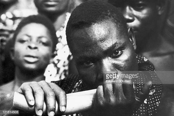 Musician During The National Independence Celebrations On August 7Th 1960