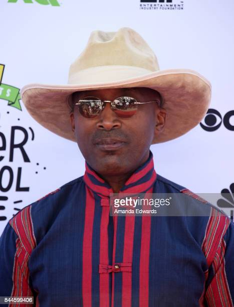 Musician D'Wayne Wiggins arrives at the EIF Presents XQ Super School Live event at The Barker Hanger on September 8 2017 in Santa Monica California