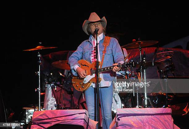 Musician Dwight Yoakam performs at the 2015 FarmBorough Festival Day 2 at Randall's Island on June 27 2015 in New York City