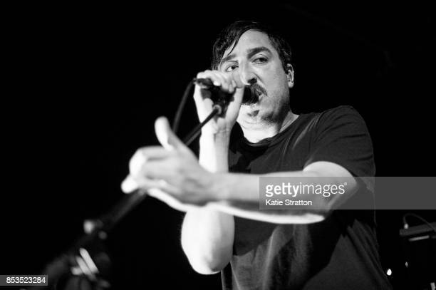 Musician Ed Droste of Grizzly Bear performs at Zebulon on September 24 2017 in Los Angeles California