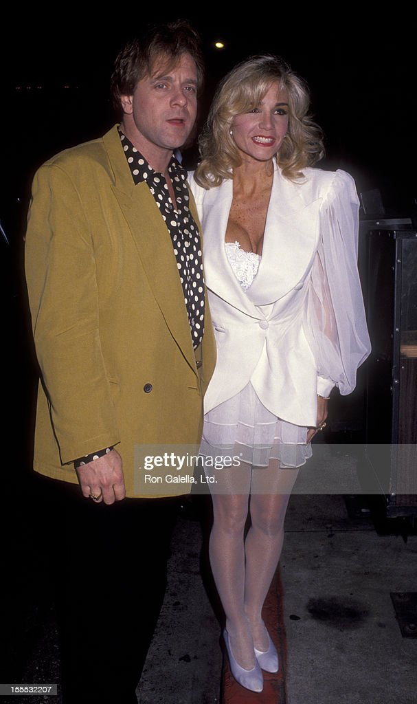 Musician Eddie Money and wife Laurie Mahoney attend Spinal Tap Concert on January 30, 1992 at the Golden Monkey in Santa Monica, California.