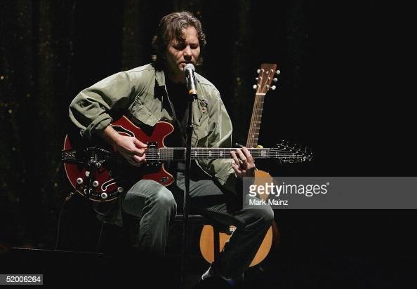 Musician Eddie Vedder performs during the