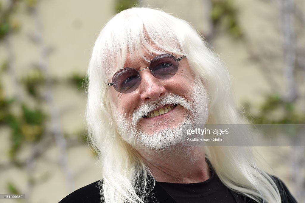 Musician Edgar Winter attends Ringo Starr's birthday fan gathering at Capitol Records on July 7, 2015 in Hollywood, California.