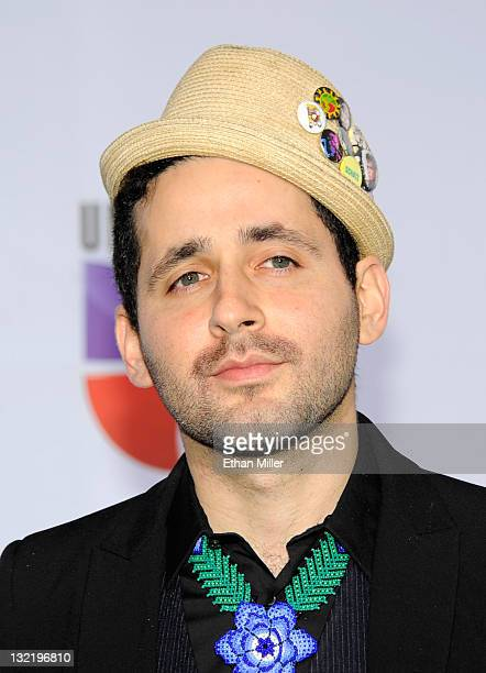 Musician Eduardo Cabra Martonez arrives at the 12th annual Latin GRAMMY Awards at the Mandalay Bay Resort Casino on November 10 2011 in Las Vegas...