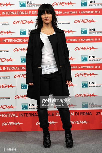 Musician Elisa Toffoli attends the Un Giorno Questo Dolore Ti Sara Utile Photocall during the 6th International Rome Film Festival on November 2 2011...