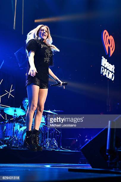 Musician Ellie Goulding performs onstage at Hot 995's Jingle Ball 2016 at Verizon Center on December 12 2016 in Washington DC