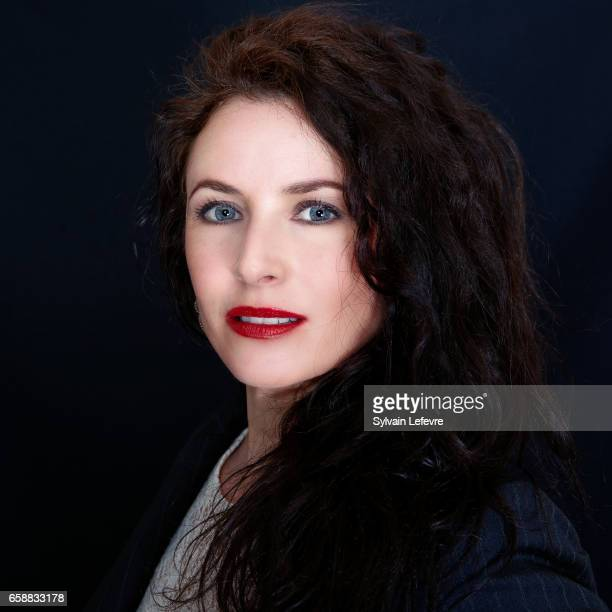 Musician Elsa Lunghini is photographed for Self Assignment on March 13 2017 in Valenciennes France