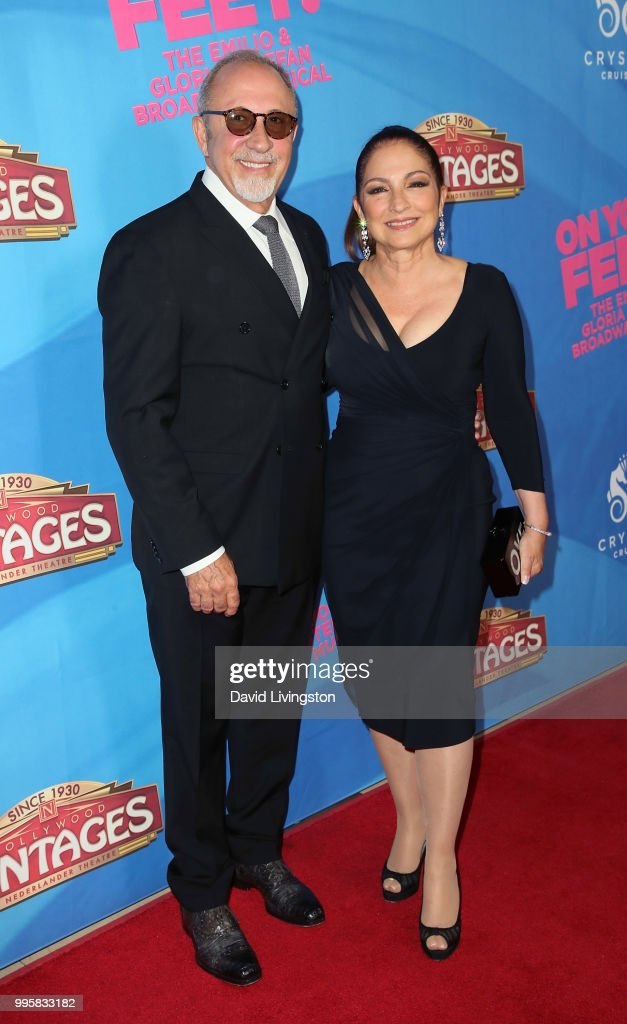 "Celebration Of The Los Angeles Engagement Of ""On Your Feet!"" The Emilio And Gloria Estefan Broadway Musical - Arrivals"