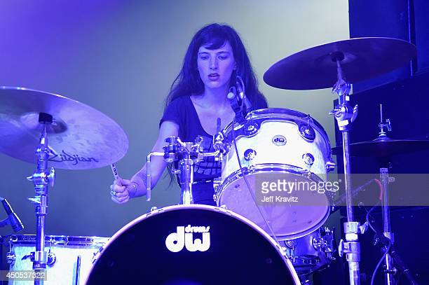 Musician Emily Rose Epstein performs onstage with Ty Segall at This Tent during day 1 of the 2014 Bonnaroo Arts And Music Festival on June 12 2014 in...