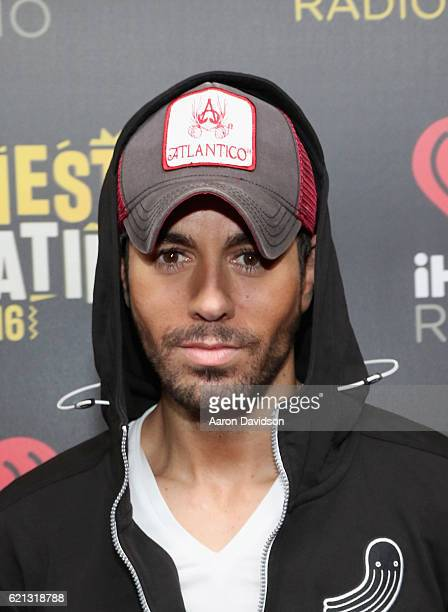 Musician Enrique Iglesias attends iHeartRadio Fiesta Latina at American Airlines Arena on November 5 2016 in Miami Florida
