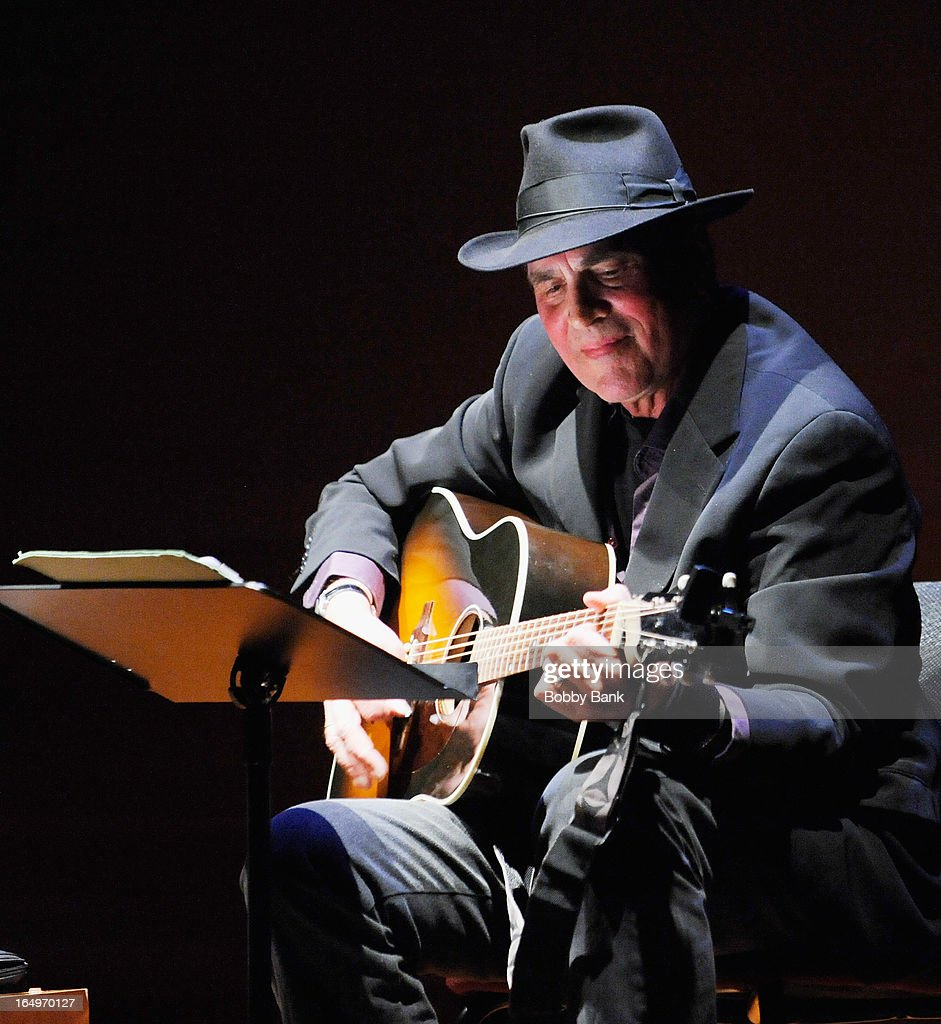 Musician Eric Andersen performs at the Rubin Museum of Art on March 29, 2013 in New York City.