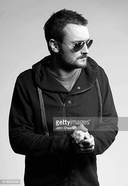Musician Eric Church poses at The Life Songs of Kris Kristofferson produced by Blackbird Presents at Bridgestone Arena on March 16 2016 in Nashville...