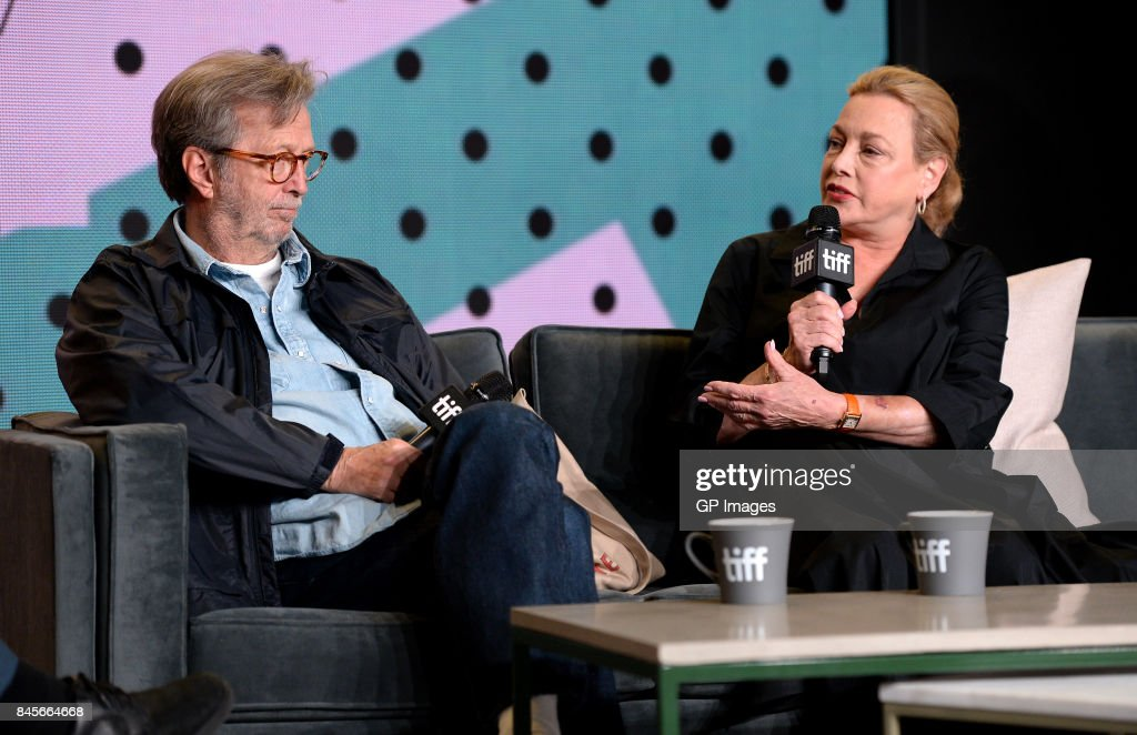 2017 Toronto International Film Festival - 'Eric Clapton: Life In 12 Bars' Press Conference : News Photo