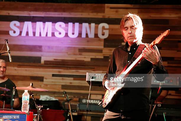 Musician Eric Johnson performs onstage at the Jimmy Kimmel Live and Entertainment Weekly party hosted by Samsung with Ketel One Vodka crafted...