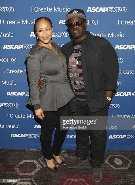 Musician Erica Campbell and record producer Warryn Campbell attend the 2016 ASCAP I Create Music EXPO on April 28 2016 in Los Angeles California