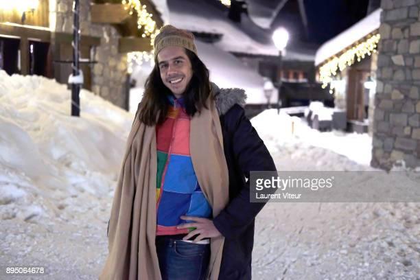 Musician Esteban Boring aka Naive New Beaters attends 9th Les Arcs European Film Festival on December 18 2017 in Les Arcs France