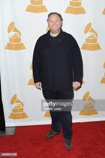 Musician Evan Bogart arrives at The Recording Academy Los Angeles Chapter's celebration honoring the nominees of the 59th GRAMMY Awards at Fig Olive...
