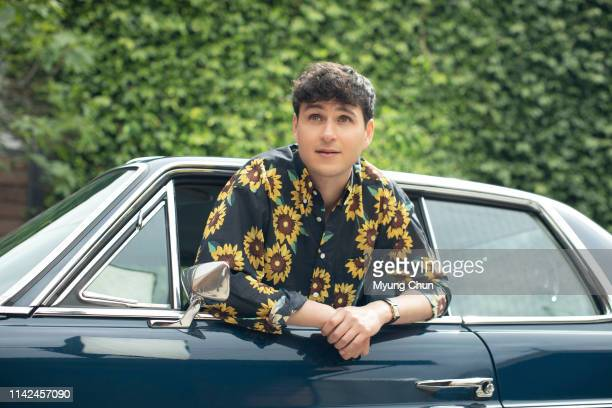 Musician Ezra Koenig is photographed for Los Angeles Times on April 16 2019 in Los Angeles California PUBLISHED IMAGE CREDIT MUST READ Myung J...