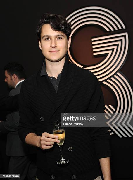 Musician Ezra Koenig of Vampire Weekend attends GQ and Giorgio Armani Grammys After Party at Hollywood Athletic Club on February 8 2015 in Hollywood...