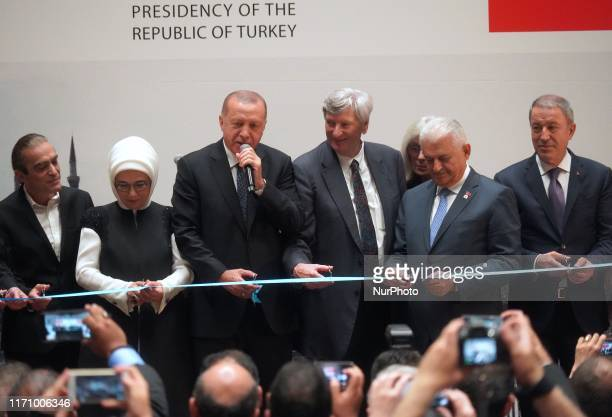 Musician Fahir Atakoglu Wife of Turkish President Erdogan, Emine Erdogan , President Erdogan , American Academy of Motion Picture Arts and Sciences...