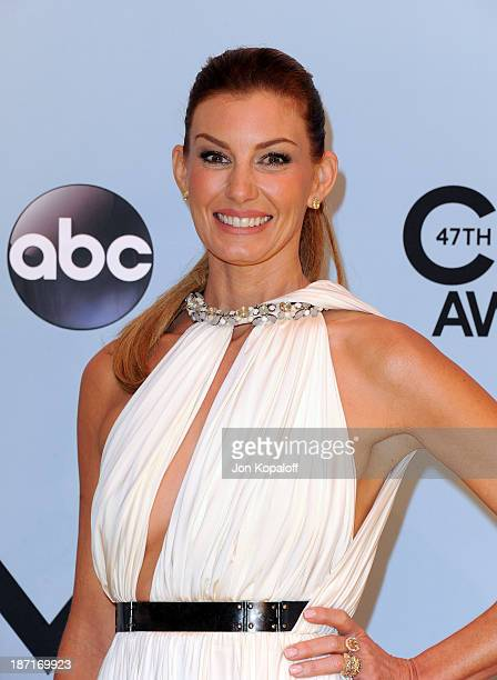 Musician Faith Hill attends the 47th annual CMA Awards at the Bridgestone Arena on November 6 2013 in Nashville Tennessee