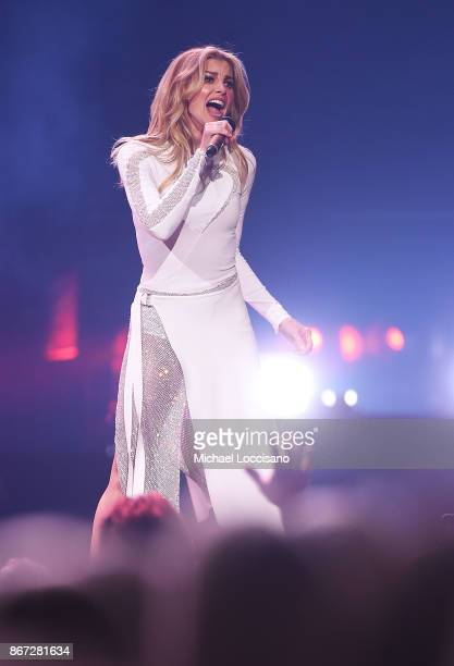 Musician Faith Hill performs during the Soul2Soul Tour at Barclays Center of Brooklyn on October 27 2017 in New York City
