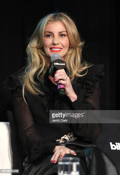 Musician Faith Hill speaks during the Billboard 2017 Touring Conference Legends Of Live Tim McGraw And Faith Hill at Montage Beverly Hills on...