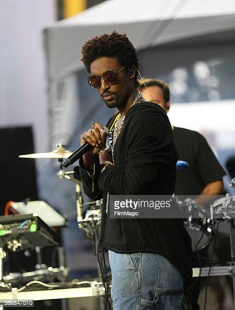 Musician Fantastic Negrito performs on the Twin Peaks Stage during the 2016 Outside Lands Music And Arts Festival at Golden Gate Park on August 6...