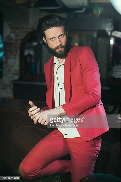 Musician Father John Misty is photographed for Billboard Magazine on March 11 2015 in New York City