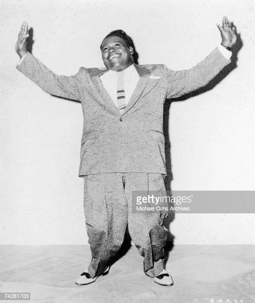 RB musician Fats Domino poses for a portrait in circa 1956