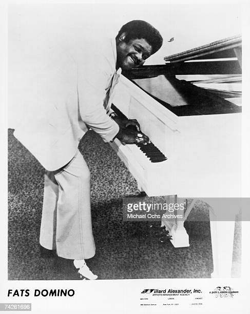 RB musician Fats Domino poses for a portrait in circa 1970