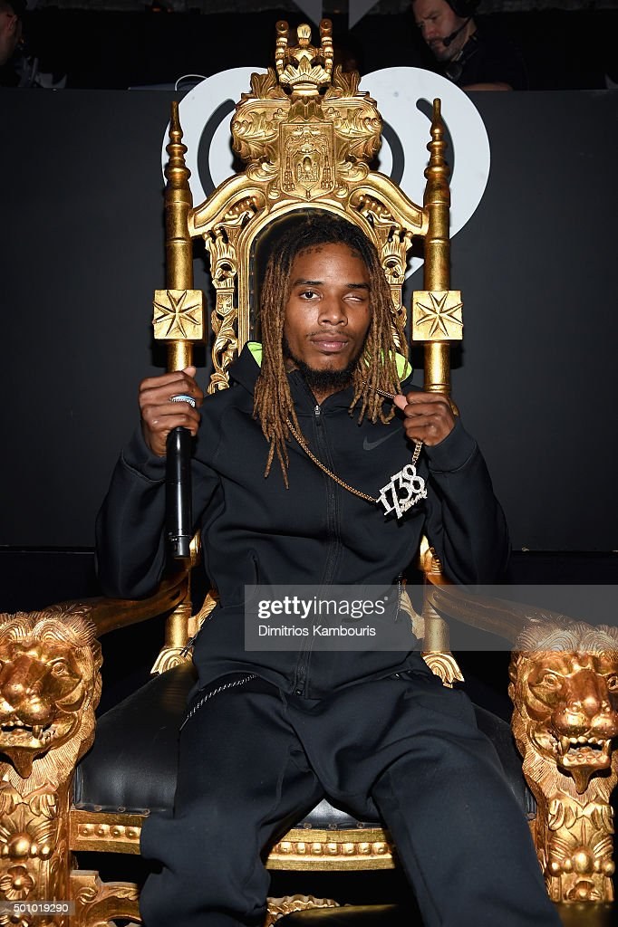 Musician Fetty Wap attends Z100's Jingle Ball 2015 at Madison Square Garden on December 11, 2015 in New York City.