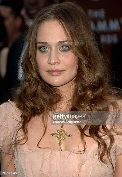 Musician Fiona Apple arrives at the 48th Annual Grammy Awards at the Staples Center on February 8 2006 in Los Angeles California
