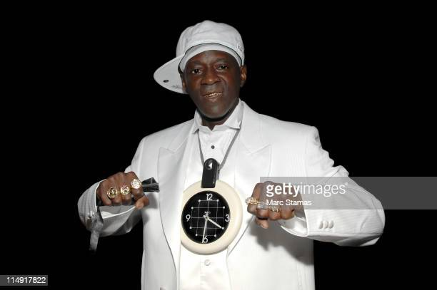 Musician Flavor Flav promotes the new book Flavor Flav The Icon the Memoir at HueMan Bookstore Cafe on May 28 2011 in New York City