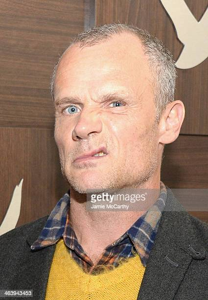 Musician Flea attends the GREY GOOSE Blue Door Hosts Low Down Party on January 19 2014 in Park City Utah
