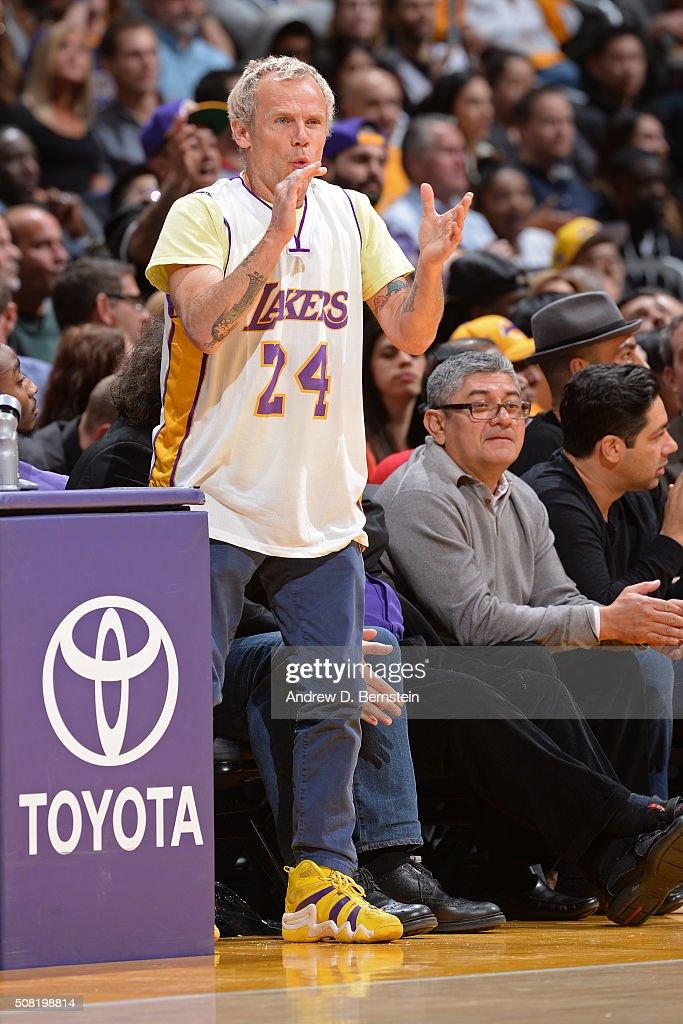 Minnesota Timberwolves v Los Angeles Lakers : News Photo