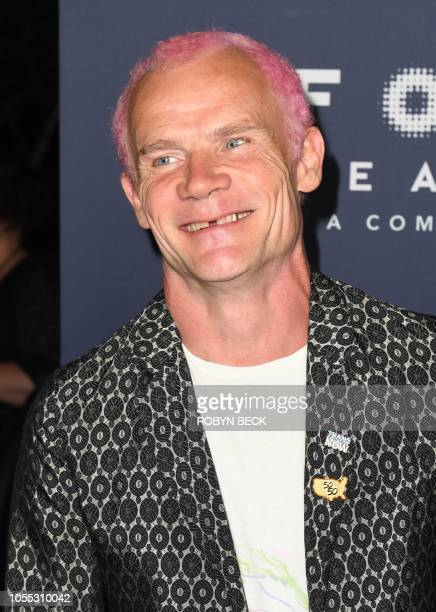 """Musician Flea, from Red Hot Chili Peppers, attends the Los Angeles special screening of """"Boy Erased"""" at the Directors Guild of America theatre in Los..."""
