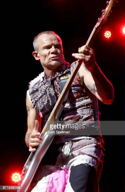 Musician Flea from the Red Hot Chili Peppers attends the 11th Annual Stand Up for Heroes at The Theater at Madison Square Garden on November 7 2017...