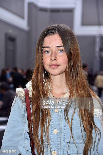 Musician Flo Morrissey attends the Chloe show as part of the Paris Fashion Week Womenswear Spring/Summer 2016 on October 1 2015 in Paris France