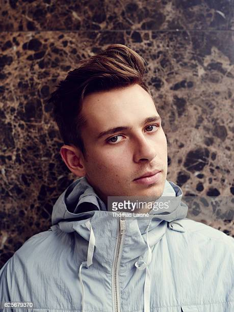 Musician Flume is photographed for Self Assignment on June 9 2016 in Paris France