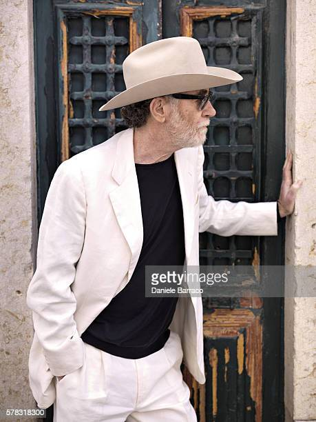 Musician Francesco De Gregori is photographed for Self Assignment in 2012