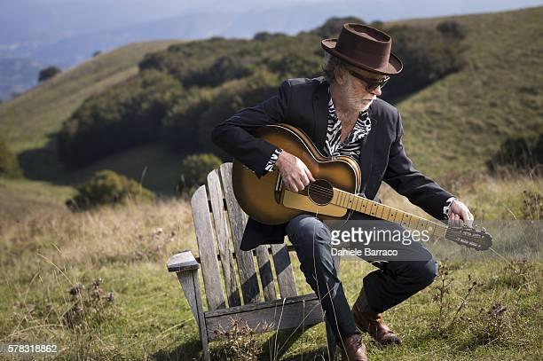 Musician Francesco De Gregori is photographed for Self Assignment in 2012.