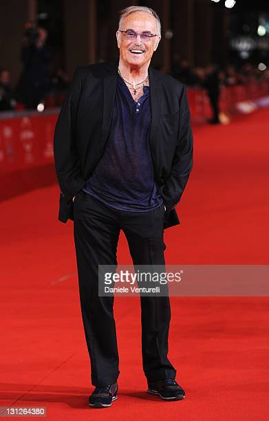 Musician Franco Califano attends the Noi di Settembre Premiere during the 6th International Rome Film Festival at Auditorium Parco Della Musica on...