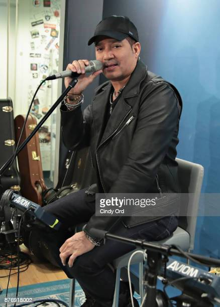 Musician Frank Reyes performs at the SiriusXM Studios on November 20 2017 in New York City