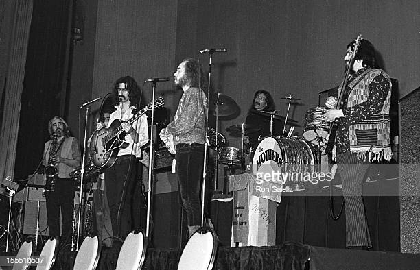 Musician Frank Zappa and the Mothers of Invention attend 10th Annual Grammy Awards on February 29 1968 at the New York Hilton Hotel in New York City