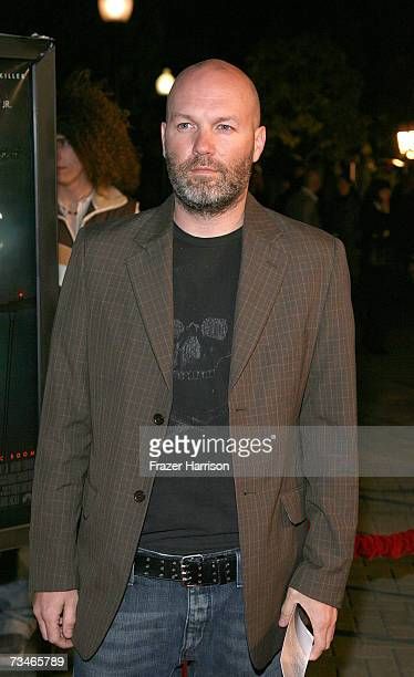 Musician Fred Durst arrives at the Paramount Pictures' Premiere Of 'Zodiac' held at Paramount Studios on March 12007 in Los Angeles California
