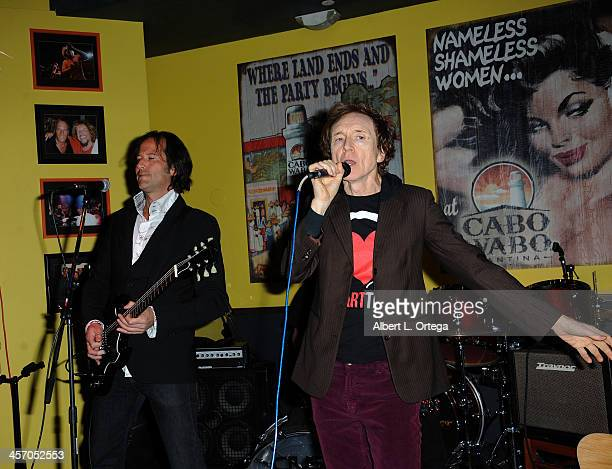 Musician G Tom Mac attends Britticares Toy Drive with a benefit concert by G Tom Mac Many Of Odd Nature in conjunction with publicist Michael...