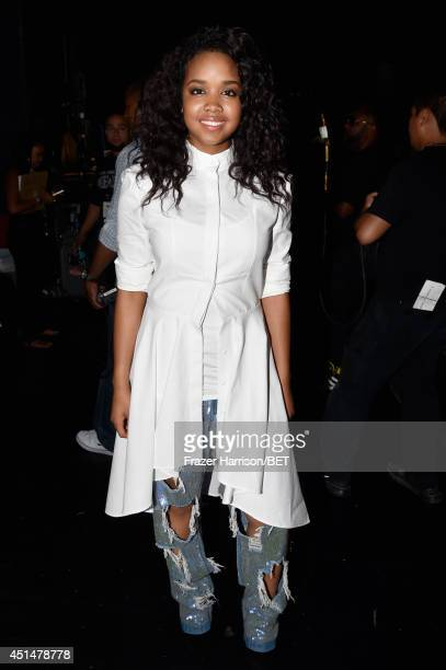 Musician Gabi Wilson attends the BET AWARDS '14 at Nokia Theatre L.A. LIVE on June 29, 2014 in Los Angeles, California.